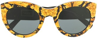 Versace Eyewear all-over print sunglasses