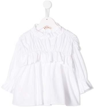 Marni ruffled blouse