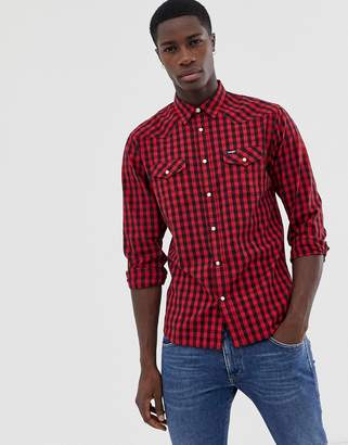 Wrangler buffalo check shirt