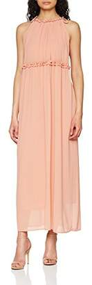 Only Women's Onlceremony Halterneck Long WVN Dress,12 (Manufacturer Size: )