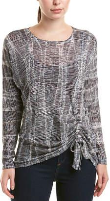 Nic+Zoe Linen-Blend Pullover