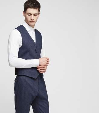Reiss Reynolds W Donegal Weave Waistcoat