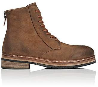 Marsèll MEN'S LEATHER LACE-UP BOOTS - BROWN SIZE 9 M