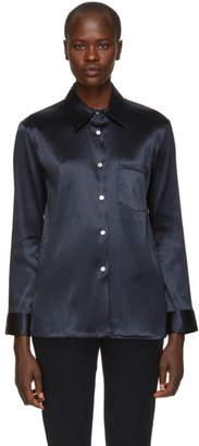 Mansur Gavriel Blue Linen Shirt