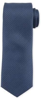 BOSS Micro-Birdseye Silk Tie