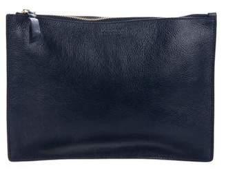 Lotuff Leather Zipper Ipad Pouch w/ Tags