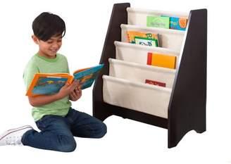 Kid Kraft Sling Bookshelf - Natural & Espresso