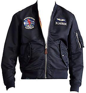 Polo Ralph Lauren Men's Twill Bomber Jacket