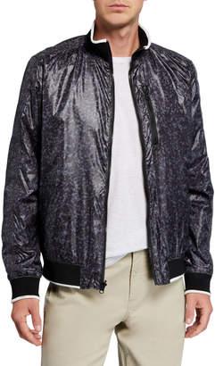Kenneth Cole New York Men's Reversible Bomber Jacket