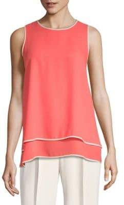 Vince Camuto Double Layered Top