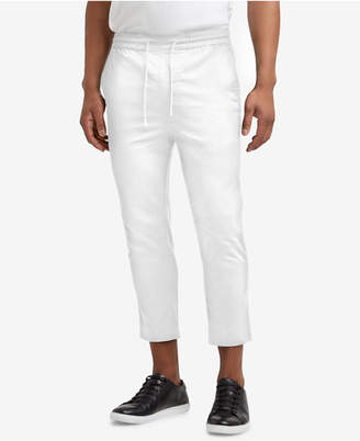 Kenneth Cole Reaction Men's Cropped Stretch Drawstring Pants