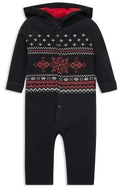Ralph Lauren Boys' Waffle-Knit Cotton Coverall - Baby
