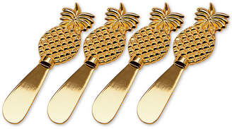 Godinger Pineapple Spreaders, Set of 4