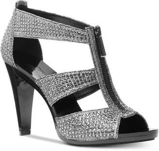 Michael Kors Berkley T-Strap Sandals