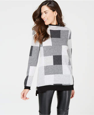 Charter Club Printed Cashmere Sweater, Created for Macy's