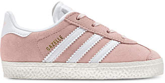 adidas Toddler Girls' Gazelle Casual Sneakers from Finish Line $44.99 thestylecure.com