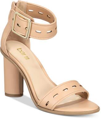 Bar III Breeanne High Heel Block Sandals, Created For Macy's Women's Shoes