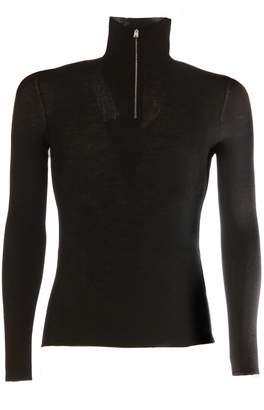 Prada Half-zipped High Neck Jumper