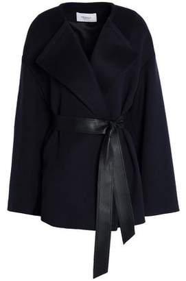Pringle Belted Wool And Cashmere-Blend Jacket