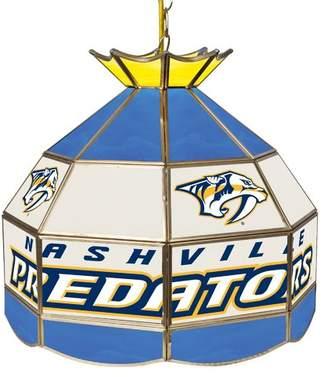 Pool' Trademark Global NHL Stained Glass 1-Light Pool Table Lights Pendant NHL Team: Nashville Predators
