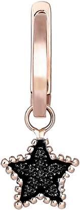 Black Diamond kismet by milka Star Hoop Earring