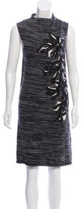 Maiyet Wool Embellished Dress