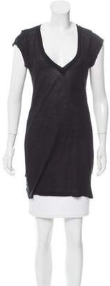 A.L.C. Short Sleeve V-Neck Tunic