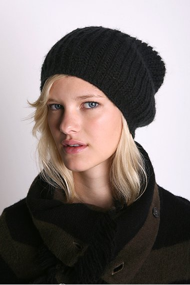 Slouchy Ribbed Beanie