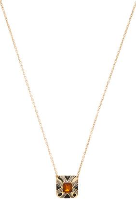 House of Harlow Art Deco Pendant Necklace $65 thestylecure.com