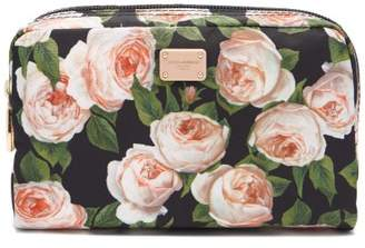 Dolce & Gabbana Roses Print Nylon Cosmetics Case - Womens - Multi