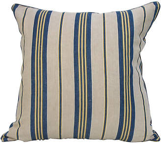 One Kings Lane Vintage French Ticking Stripe Pillow - Mary Jane McCarty Design
