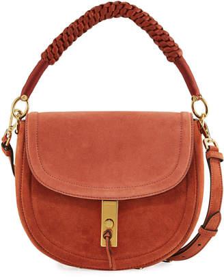 Altuzarra Braided Leather Saddle Bag