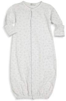 Kissy Kissy Baby's Ele-Fun Print Pima Cotton Converter Gown
