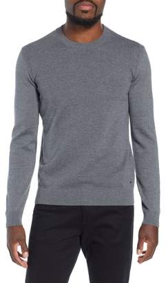 BOSS Ellegri Regular Fit Wool Pullover