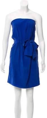 Gucci Strapless Silk Dress w/ Tags