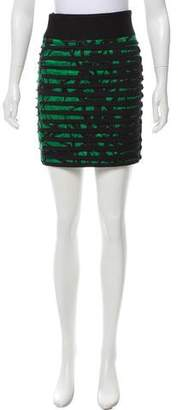 Robert Rodriguez Contrast Accented Mini Skirt
