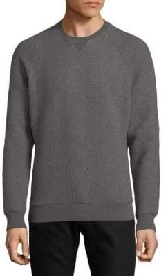 Orlebar Brown Chevron Textured Sweater