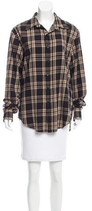 Boy. by Band of Outsiders Plaid Boyfriend Shirt $80 thestylecure.com