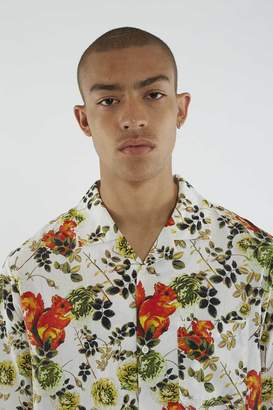 3.1 Phillip Lim Animal-Print Souvenir Shirt