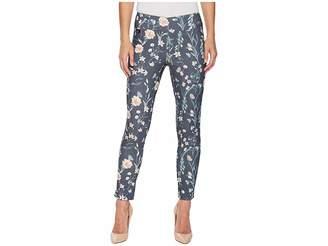 Lisette L Montreal Japanese Garden Print Slim Ankle Pants Women's Casual Pants