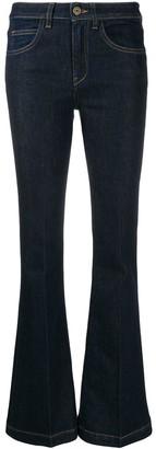 L'Autre Chose flared low-rise jeans