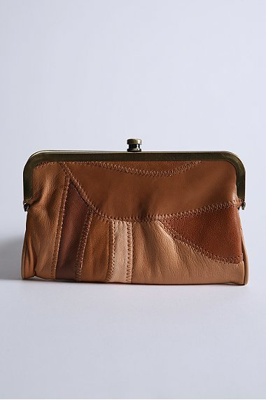 Ecote Patchwork Kisslock Wallet