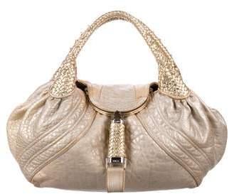 Fendi Metallic Spy Bag