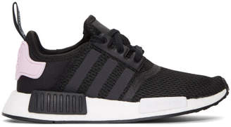 adidas Black and White NMD-R1 W Sneakers