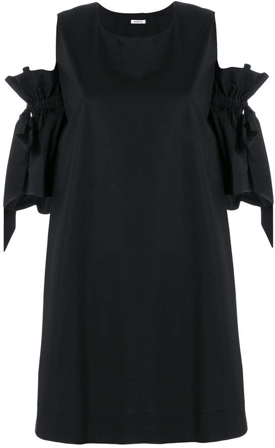 bow-tie sleeve dress