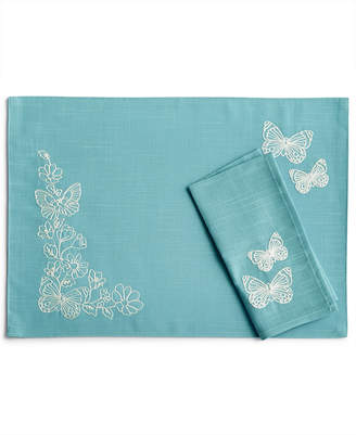 Lenox Butterfly Carved Napkin