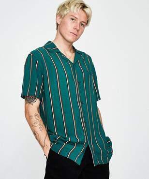 Insight Vert Signal Short Sleeve Shirt Forrest