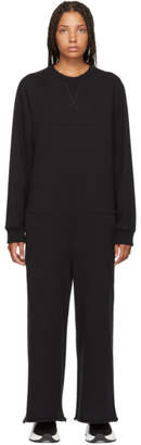 MM6 MAISON MARGIELA Black Jersey Jumpsuit