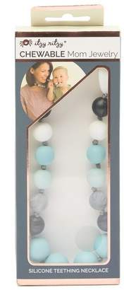 ITZY RITZY Chewable Mom Jewelry - Silicone Teething Necklace