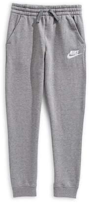 Nike Boy's Logo Fleece Jogger Pants